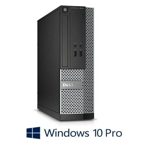 PC Refurbished Dell OptiPlex 3020 SFF, i5-4590, 2TB HDD, 8GB RAM, Win 10 Pro